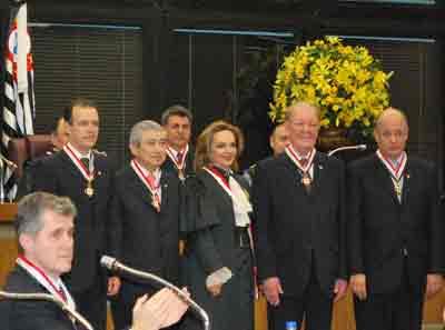 Eduardo de Barros Pimentel recebeu a Comenda no grau de Grande-Oficial