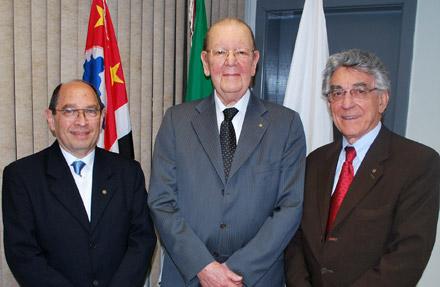 José Américo Fischmann, Eduardo de Barros Pimentel e Sizenando Afonso