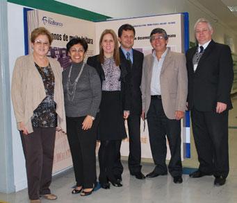 Na Unidade Higienópolis, os visitantes conheceram o projeto pedagógico do colégio