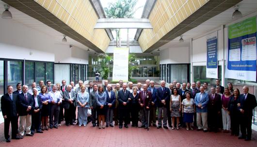 Diretores, conselheiros e gestores da Fundação de Rotarianos de São Paulo