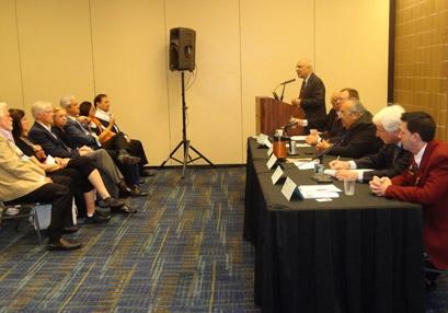 Carlos Jerônimo da Silva Gueiros em reunião das ICC