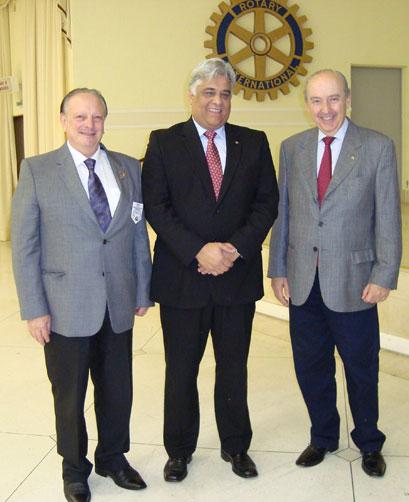 Antonio Carlos Cimino, João Carlos Correia e Oswaldo Roberto Campiglia